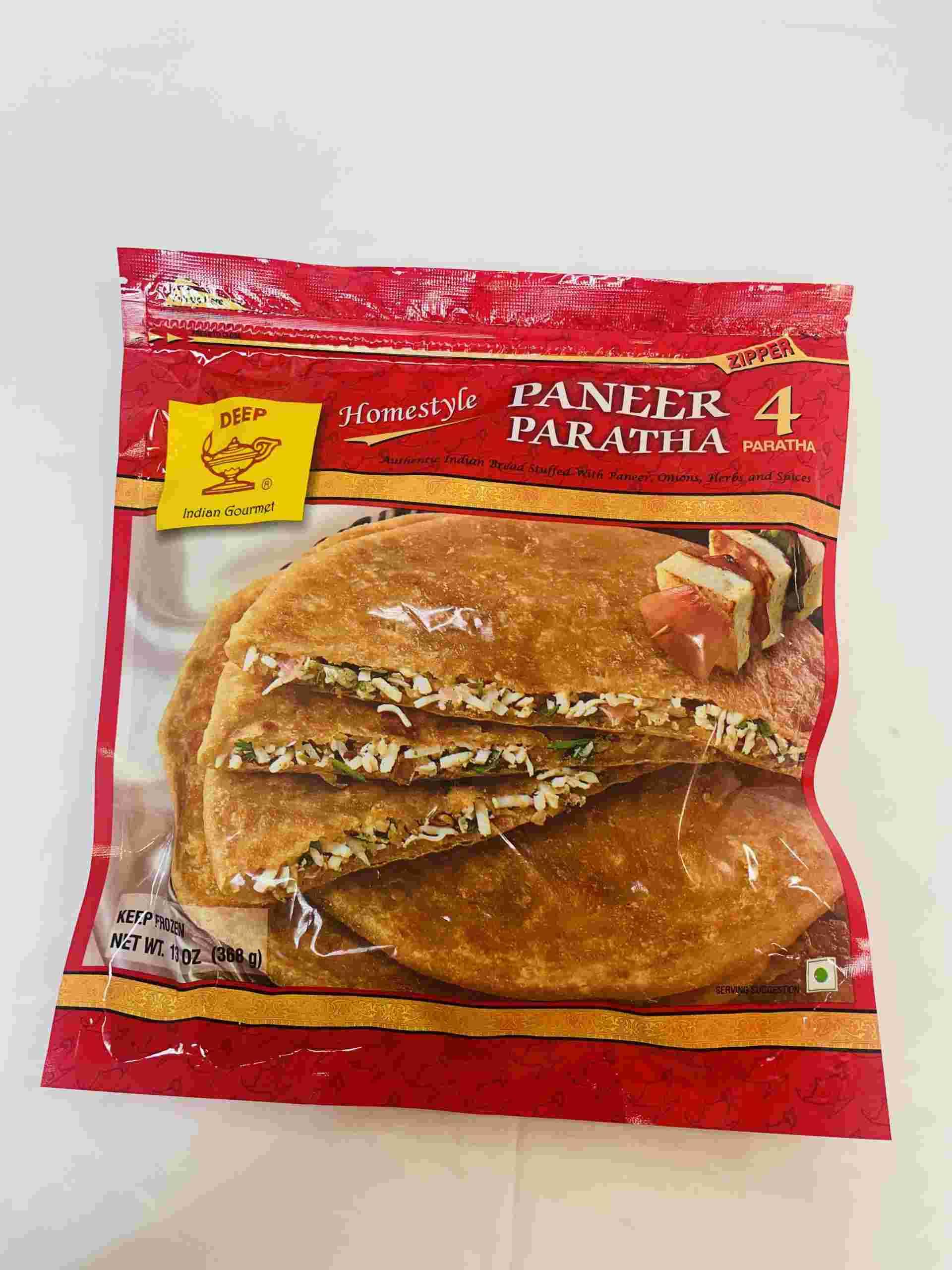Deep  Paneer Paratha 4Pieces