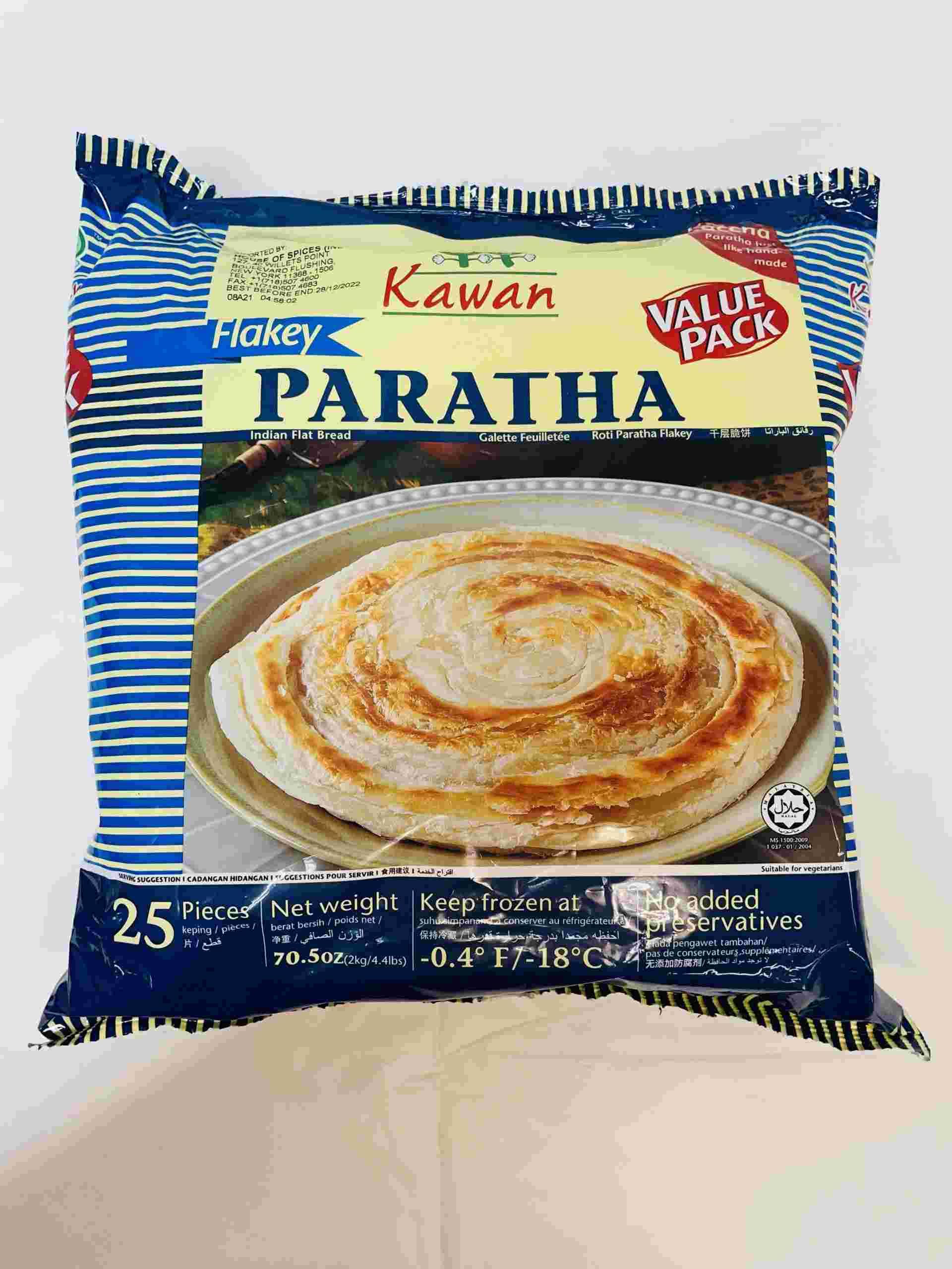 Kawan Flacky Paratha 25 Pieces