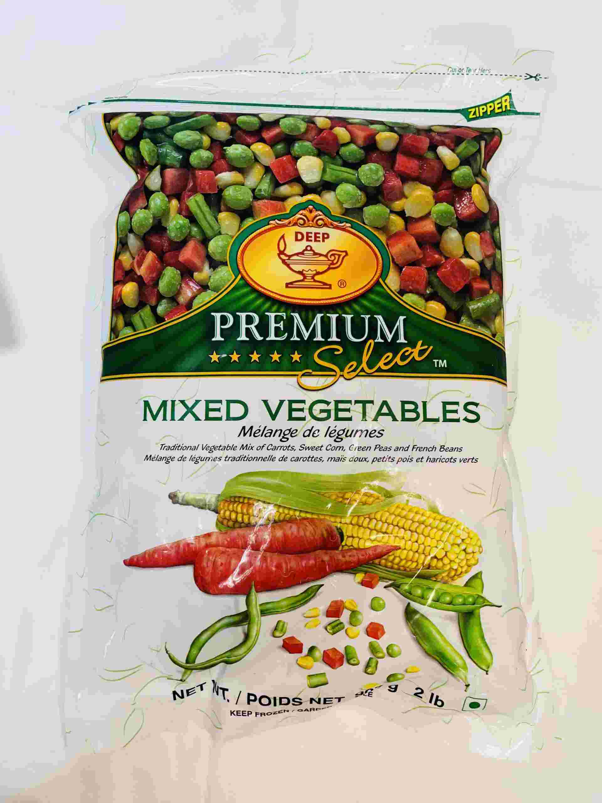 Deep  Mixed Vegetable