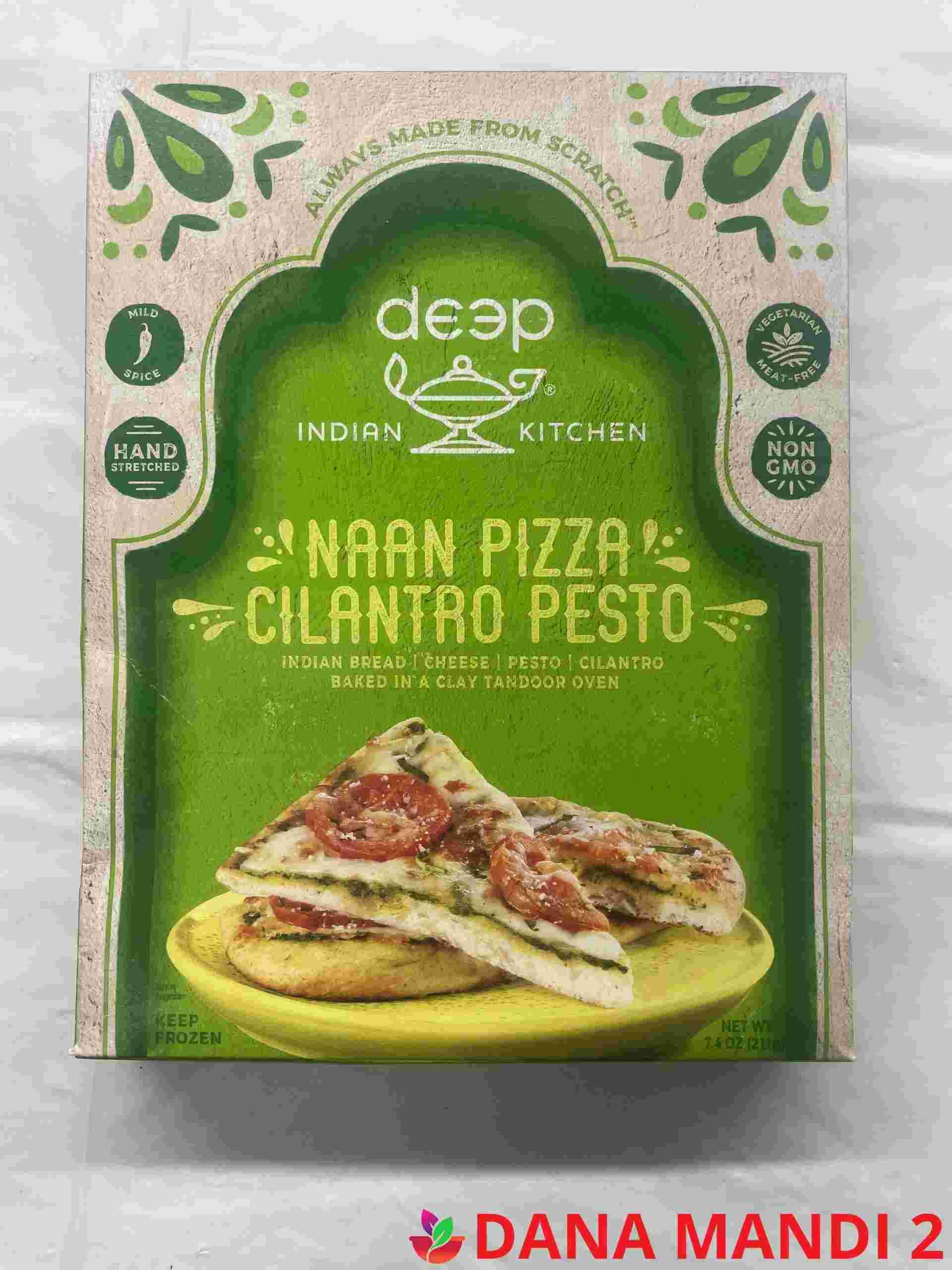 Deep  Naan Pizza Cilantro Pesto