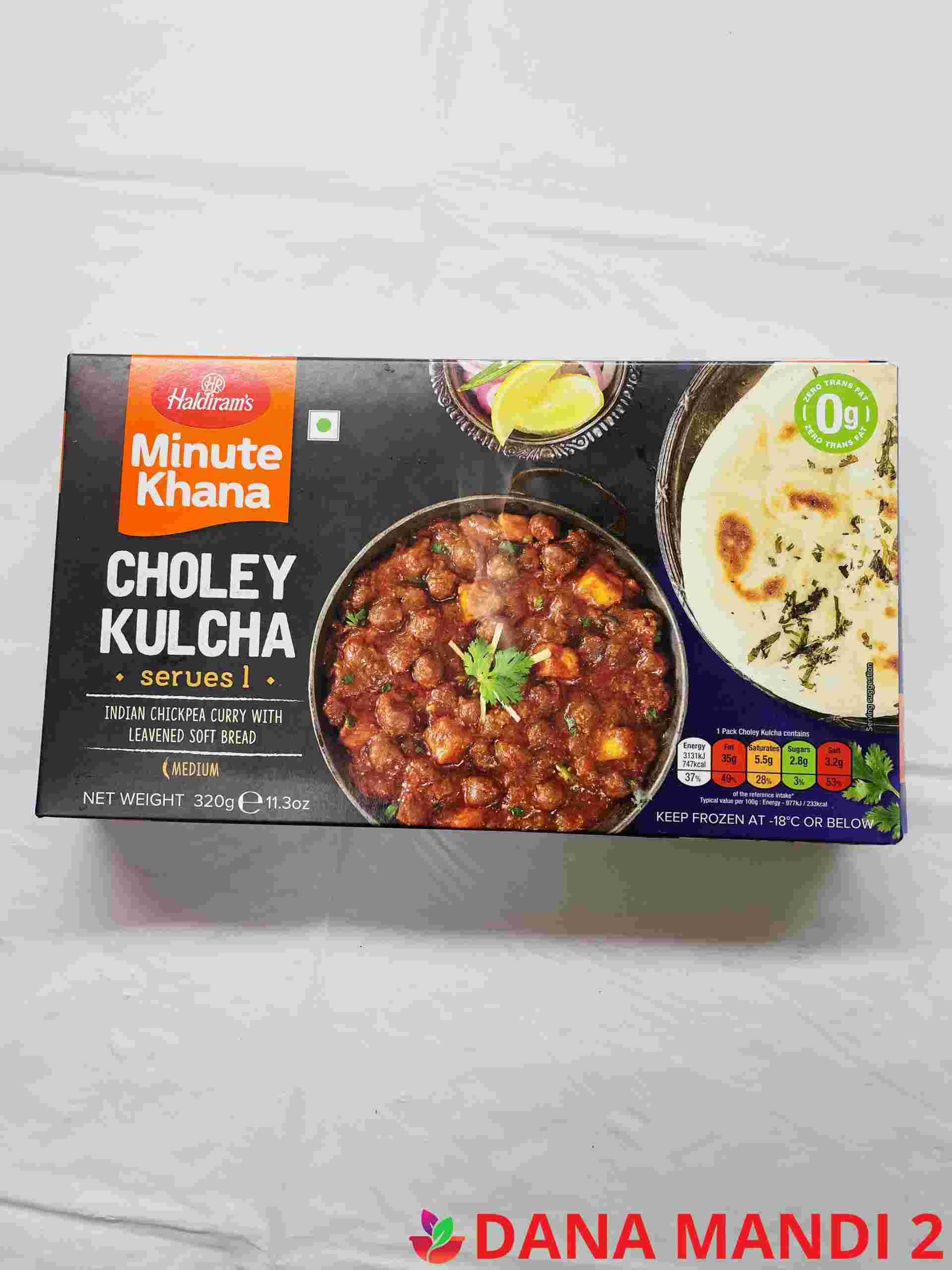 Haldiram's Choley Kulcha