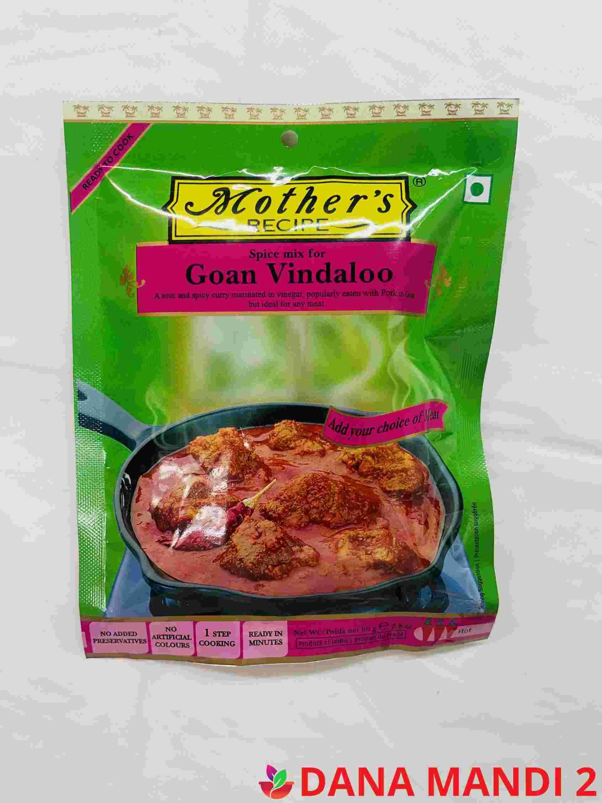 Mother's Spice Mix Goan Vindaloo