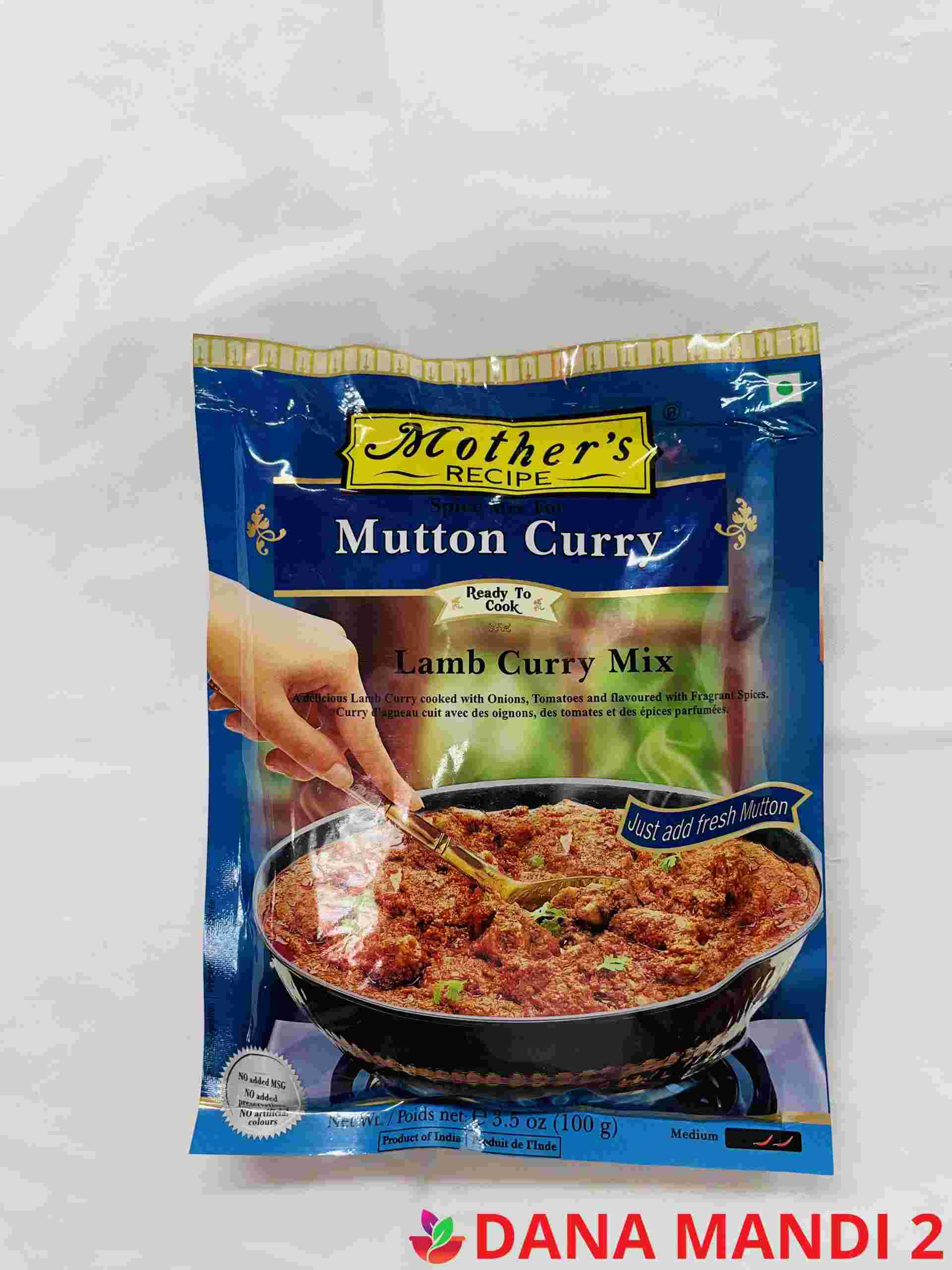 Mother's Spice Mix For Mutton Curry