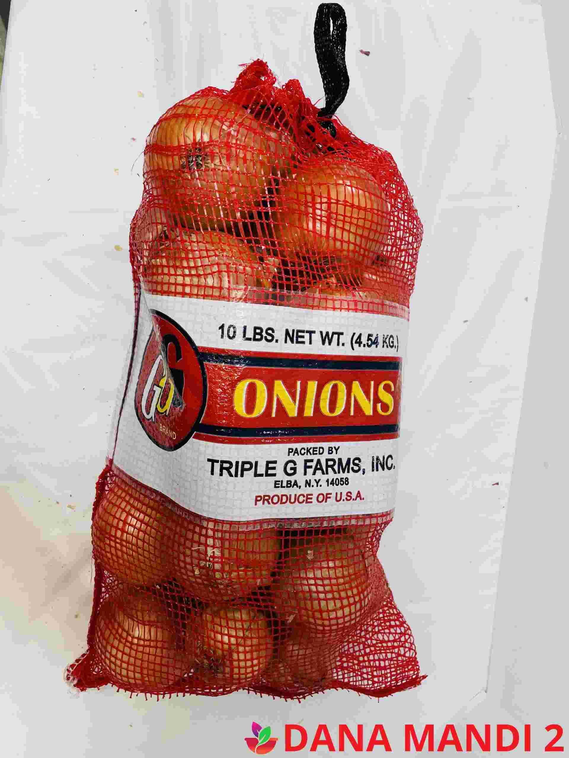 Top Gen Yellow Onions 10Lb