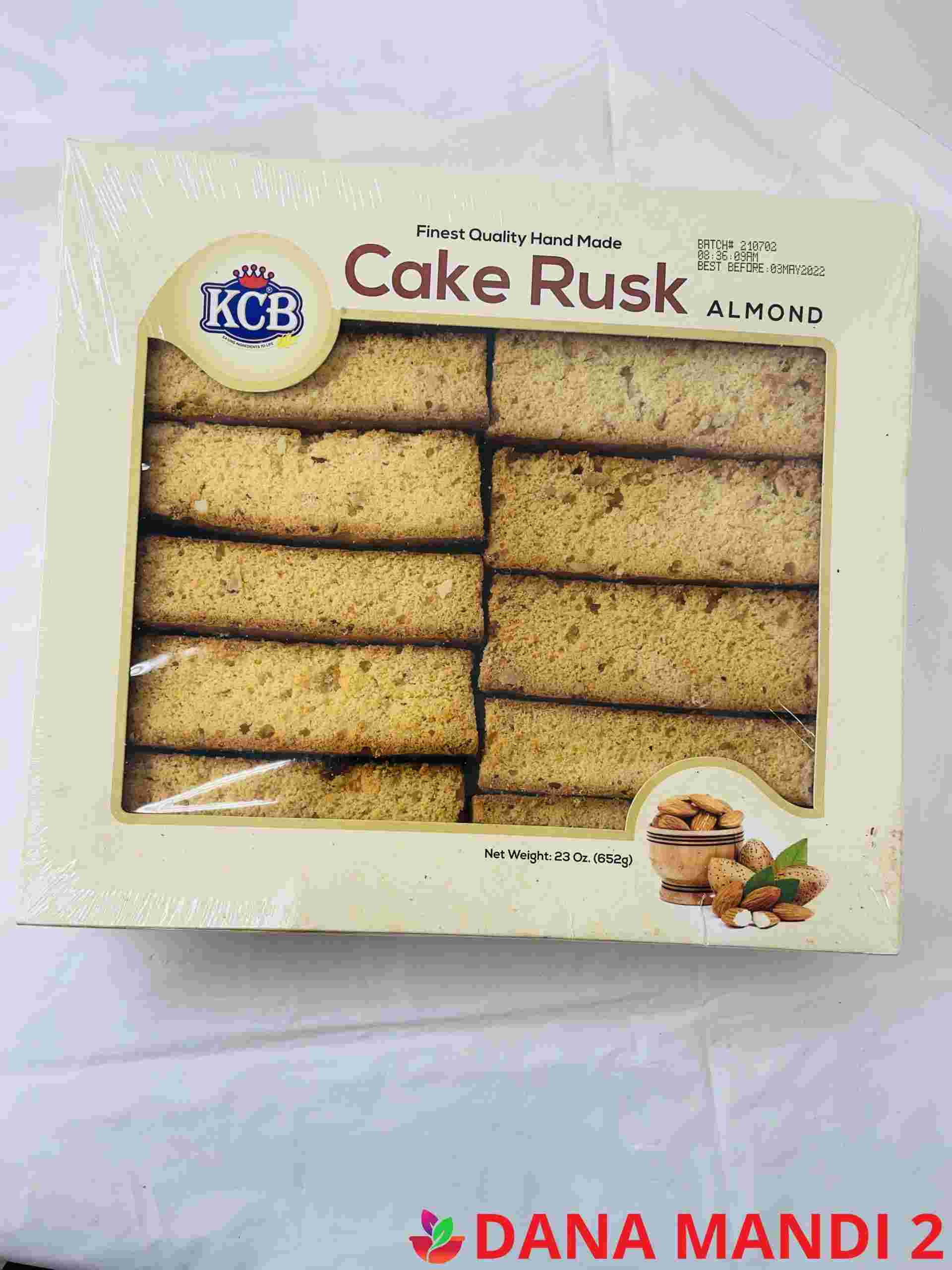 KCB Cake Rusk Almond