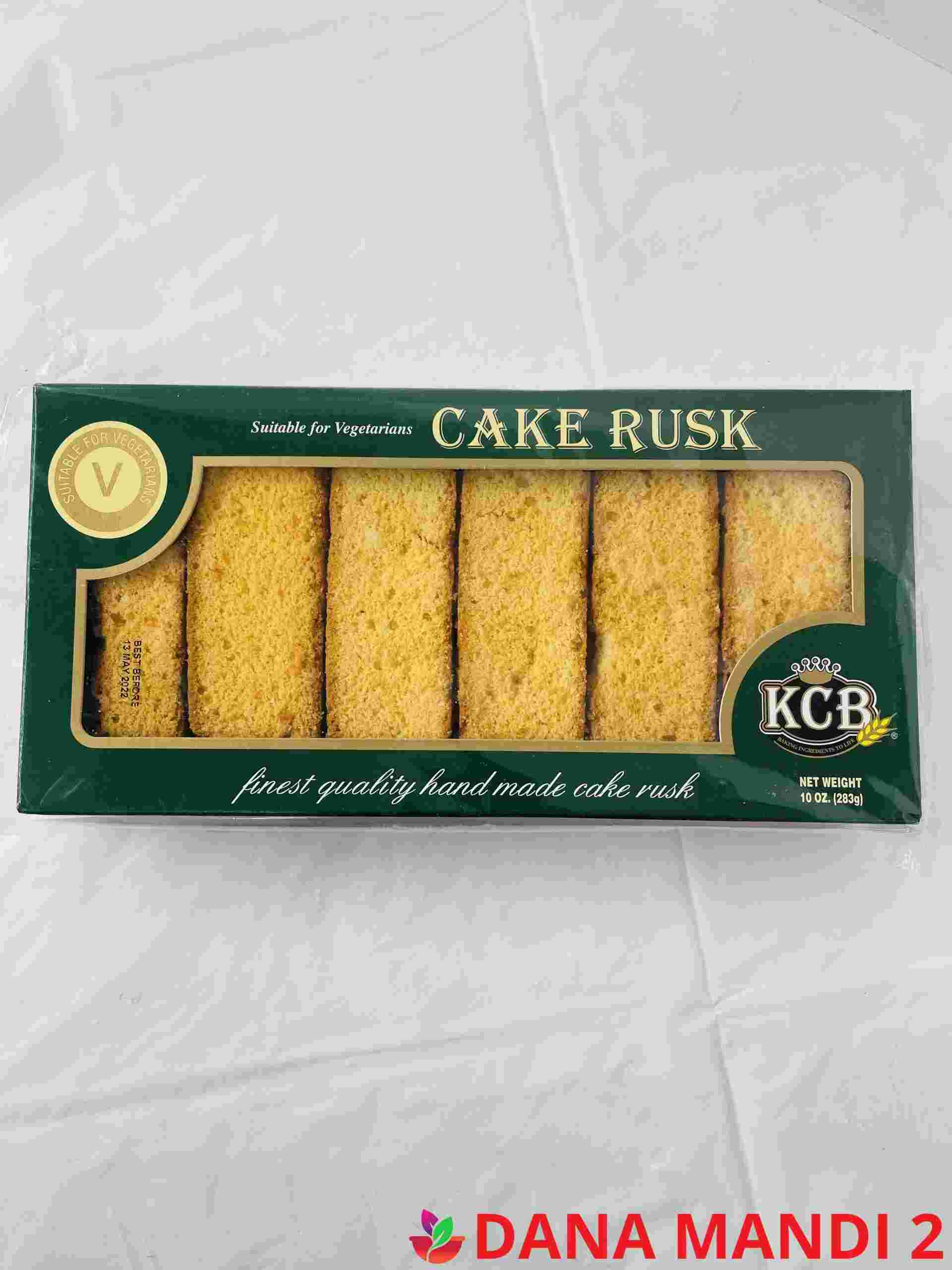 KCB Cake Rusk Sutable For Vegetarians (Green Box) Small