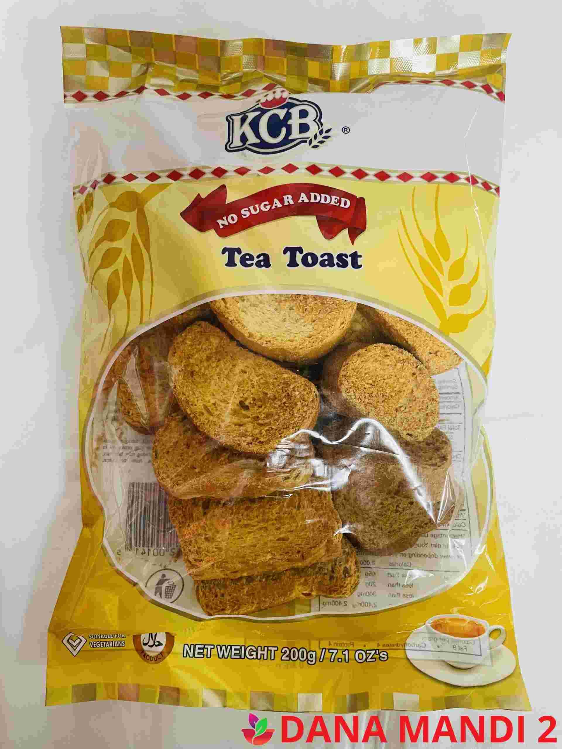 Kcb No Sugger Add  ( Round Tea Rusk )
