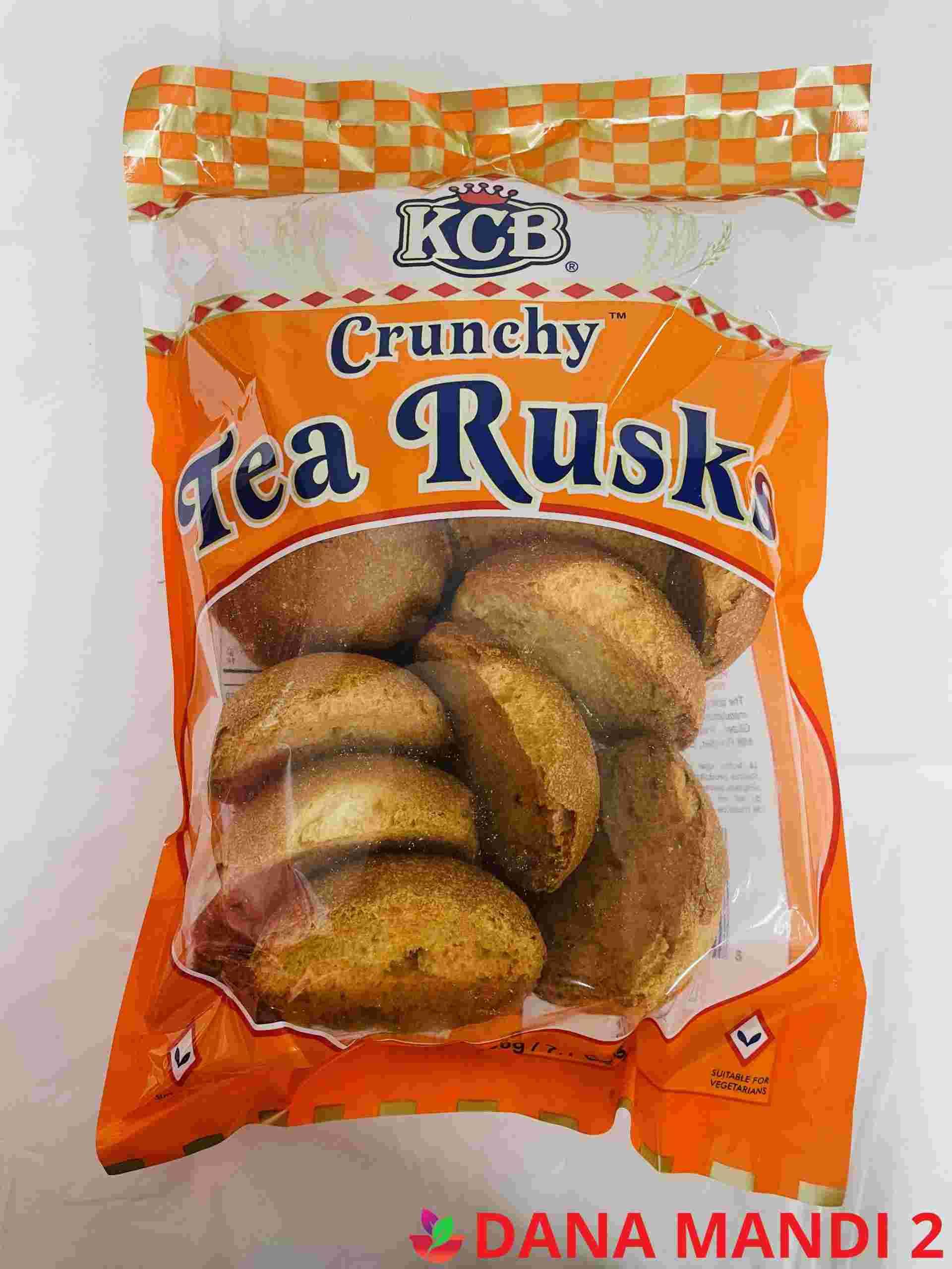 Kcb Crunchy ( Round Tea Rusk )