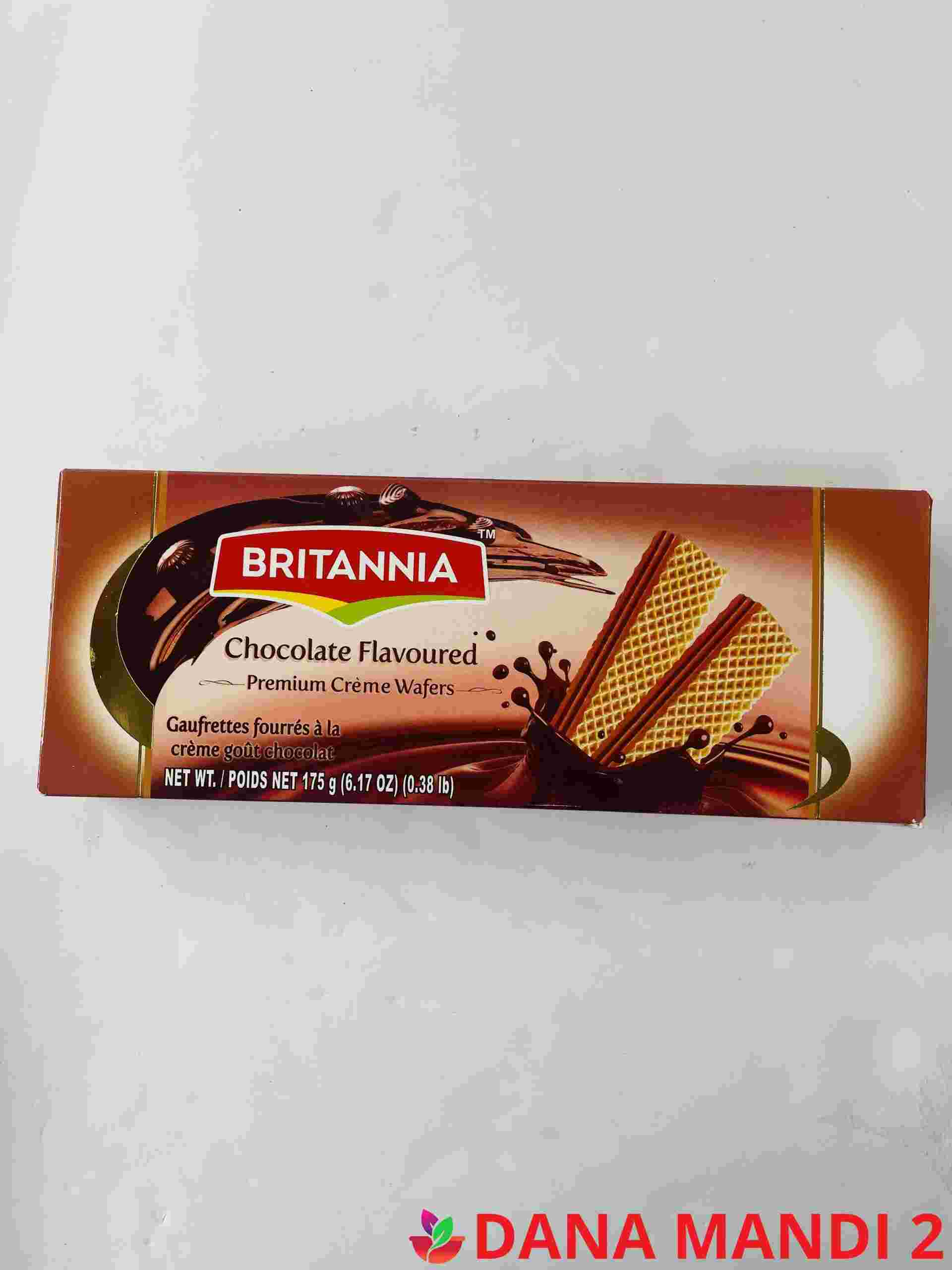 Britannia Chocolate Flavoured Wafers