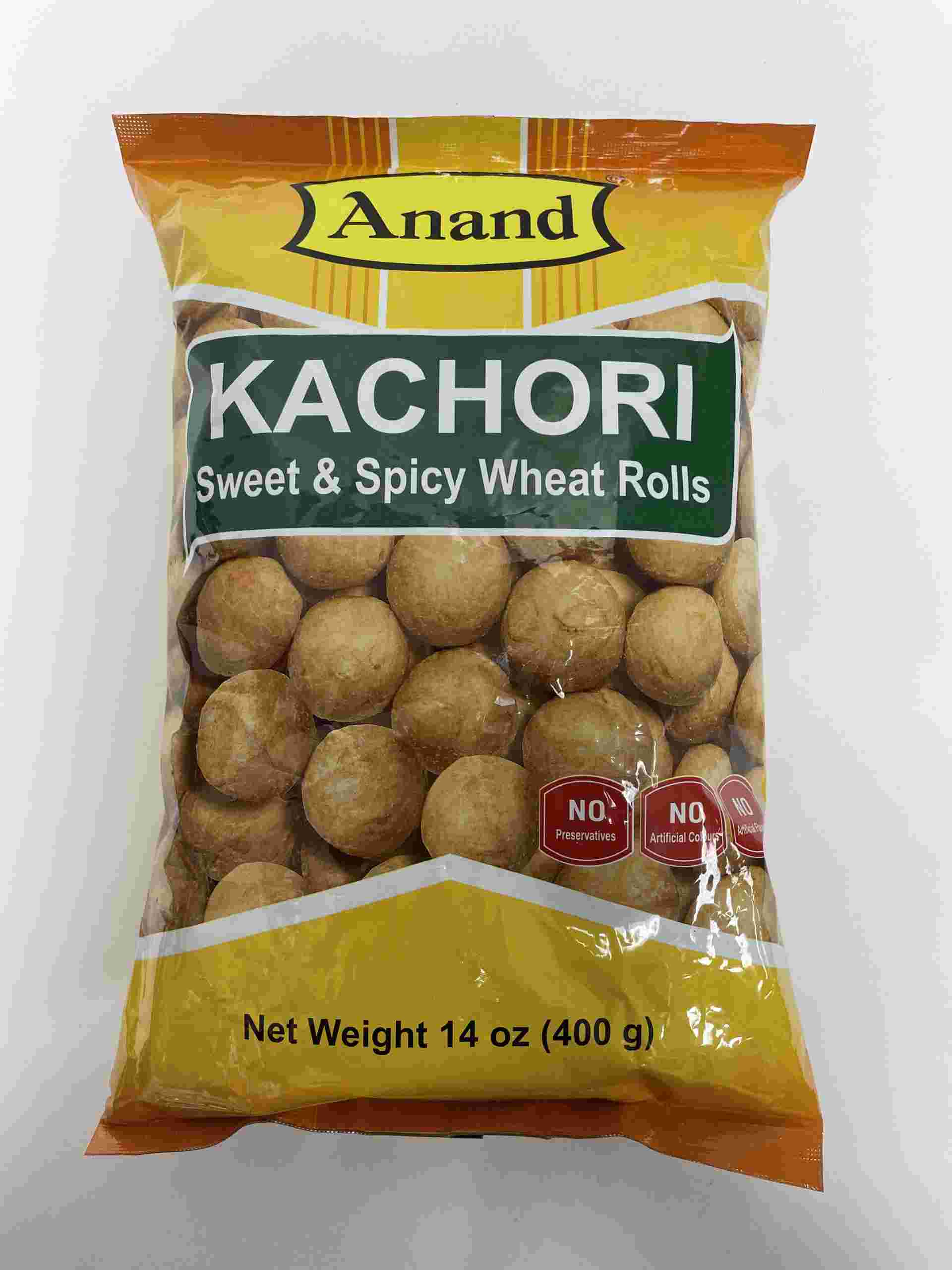 Anand Kachori (Sweet & Spicy Wheat Rolls)