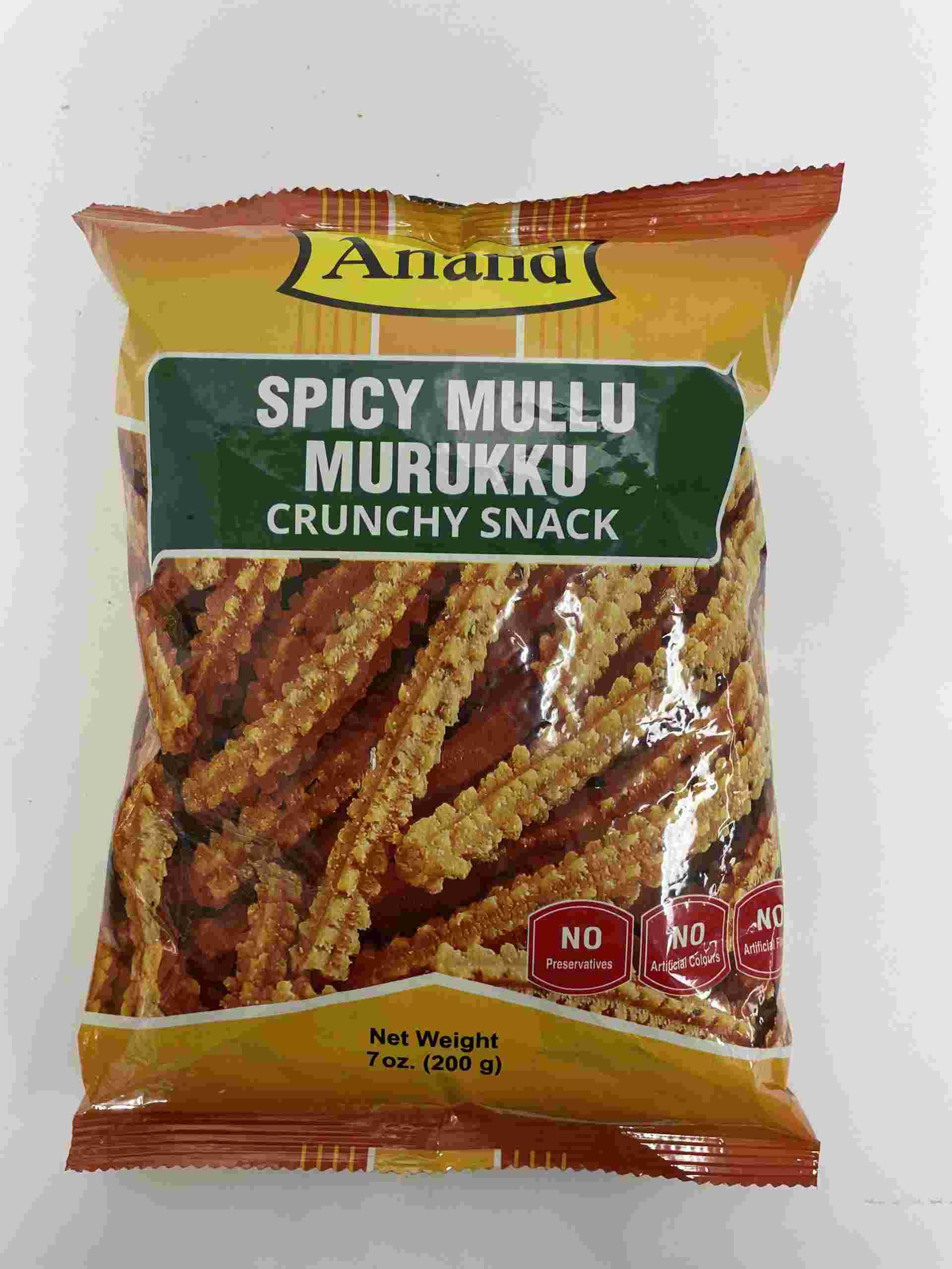 Anand Spicy Mullu Mrukku Crunchy Snack