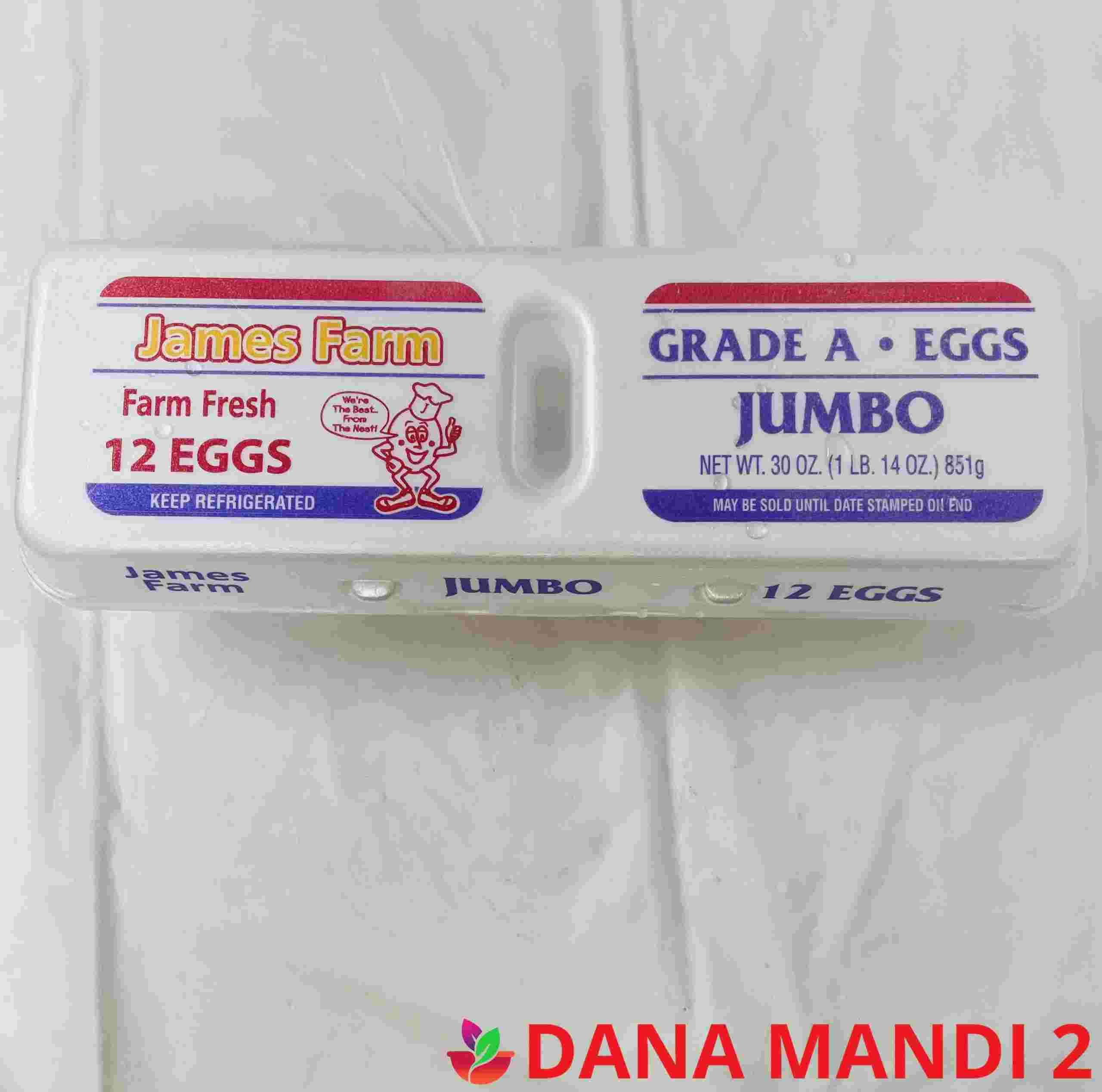 Jumbo White Eggs ( 1 Dozen )