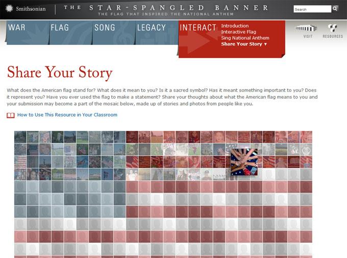 Share Your Flag Story Dana Allen Greil