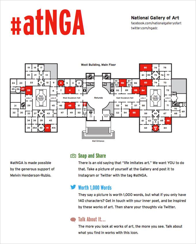 #atNGA guide