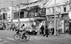Bicyle man, Naha City