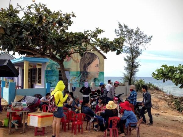 Tam Thanh mural village