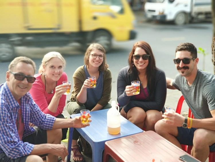 da nang food tour, liquid immersion drinks tour