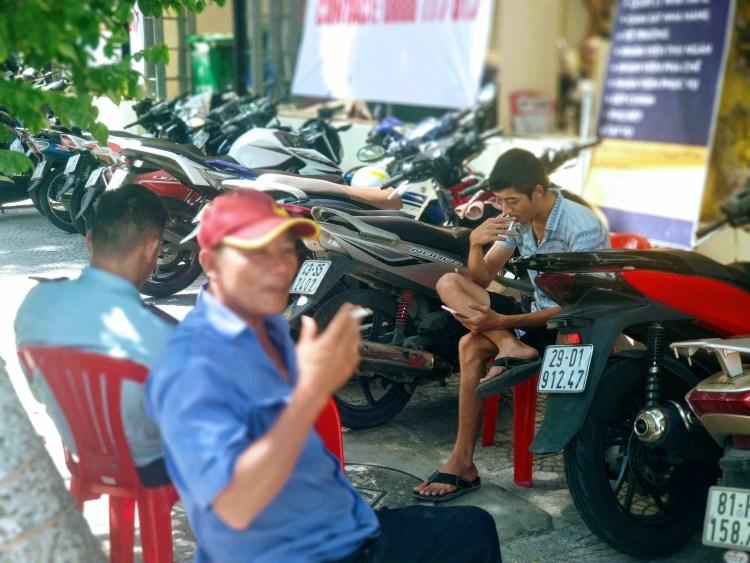 motorbike attendant
