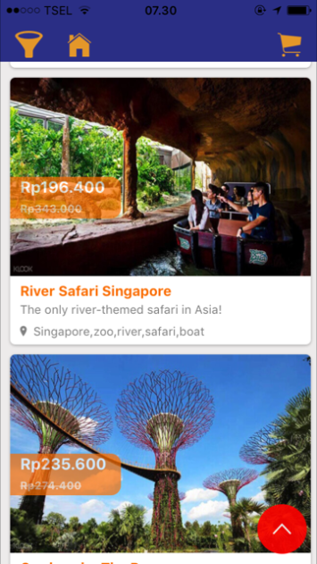Tiket atrkasi Singapura dijual murah di MarlinBooking