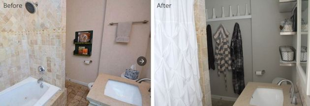 Bathroom Before and After, DIY Bathroom , Bathroom renovation