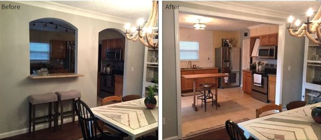 Cased Opening, DIY, Dana Morris, David Morris, Home Renovation, Houston blog