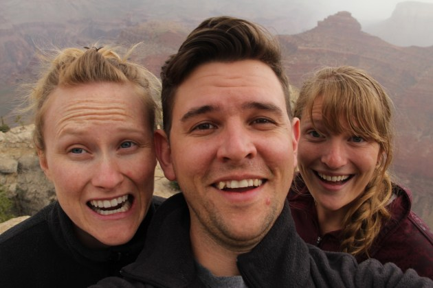 Grand Canyon Selfie, Dana and David Morris, D + D