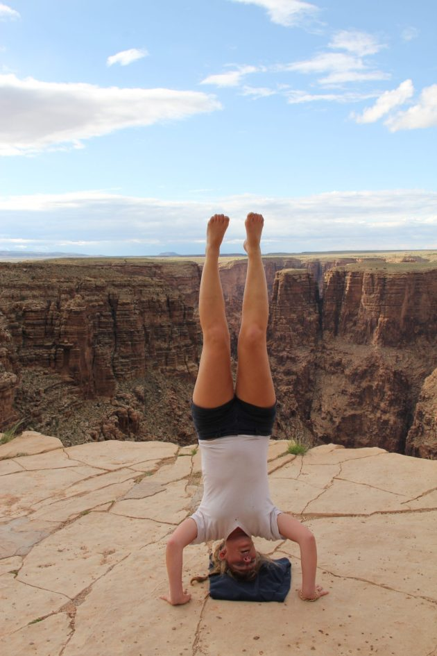 Jennifer Gosko, Headstand, Yoga, Grand Canyon