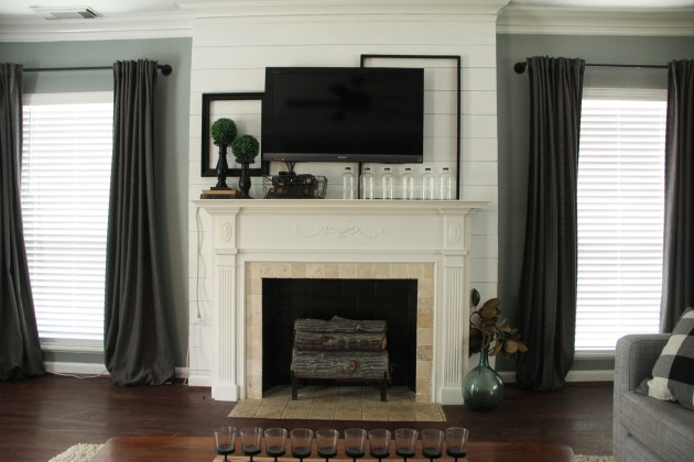 Fireplace, DIY, Living Room Fireplace,