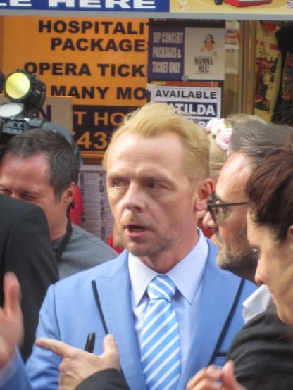 London Simon Pegg
