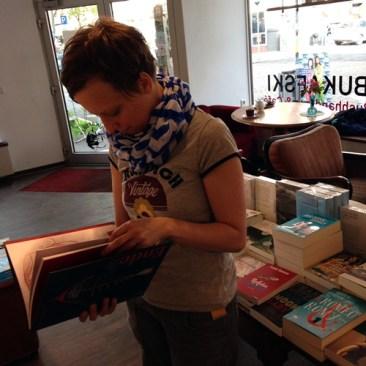 Welttag des Buches Bukafski Buchhandlung Mainz