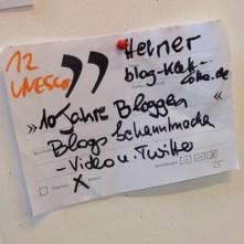 LiteraturCamp Heidelberg 2016 Sessions