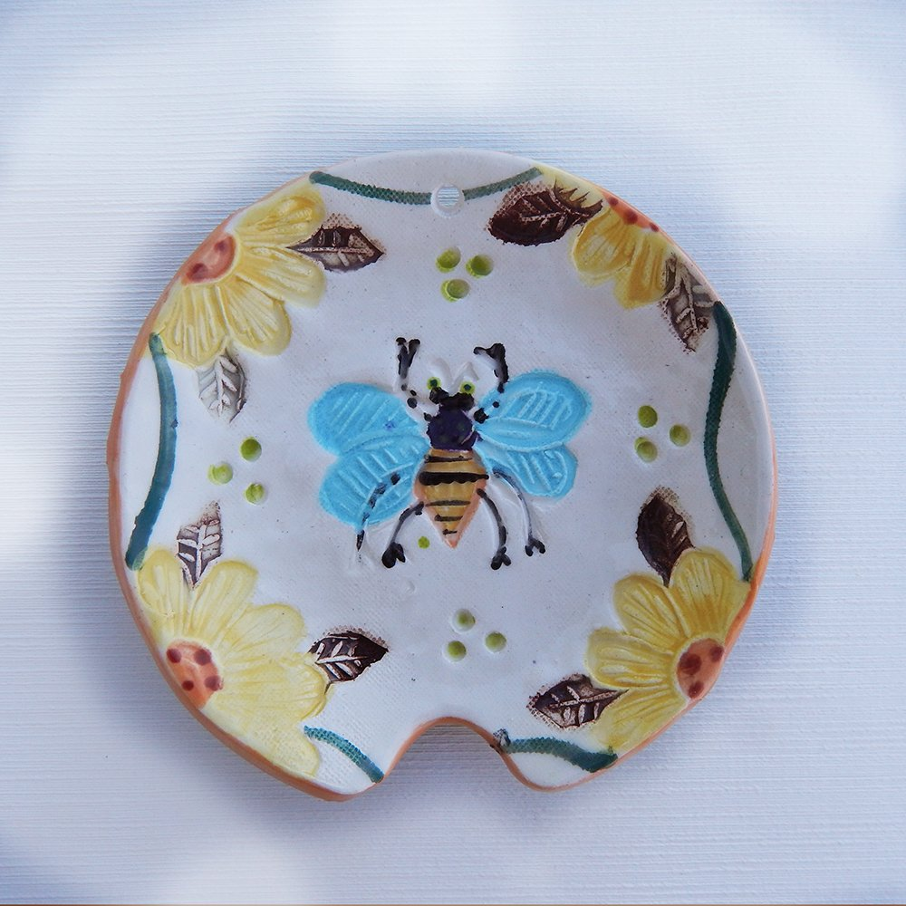honey bee spoon rest