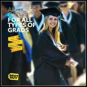 Great Grad. Graduation gifts, grads, what to buy graduates, best buy, best buy gifts for grads, dana vento