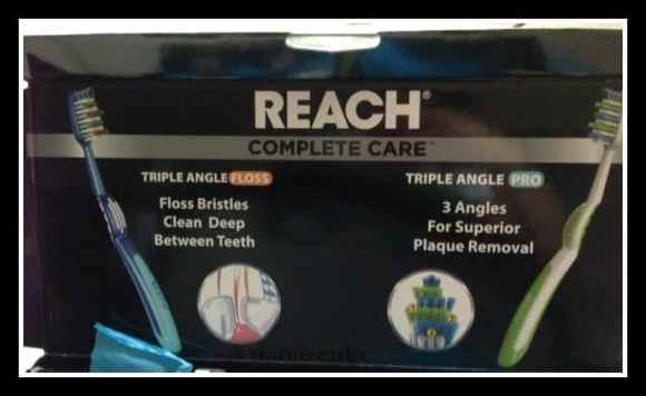 Reach, complete care, toothbrush, oral hygiene, back to school, new toothbrush, every 3 months, dana vento, beauty, Reach for Complete Teeth Care