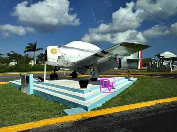 Aztec Eagles of WWII, plane, history, cozumel, trips, tourism, dana vento, travel blogger, cozumel,