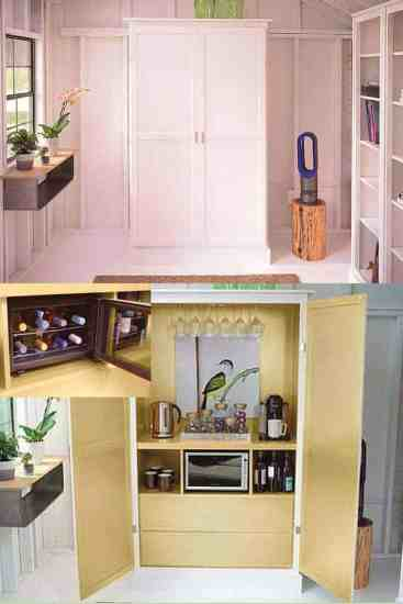 She Shed, Man Cave, REfreshments, WiFi, Tech, cables, doors, lights, how to, easy steps, transition, peace, quiet, tranquility, home, house, family, moment away, reuse, recycle, upcycle, shed, outdoor, homes, ad, Best Buy, dana vento, DIY Blogger