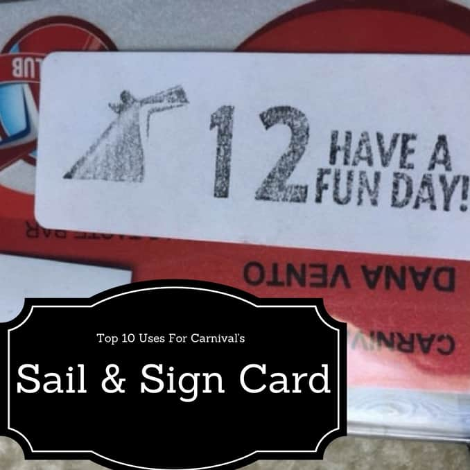 Sail & Sign Kiosk, Sail & Sign Carnival, Cruising Carnival with Sail and SIgn, S&S, Sail, Sign, Carnival Sunshine, Travel, dana vento