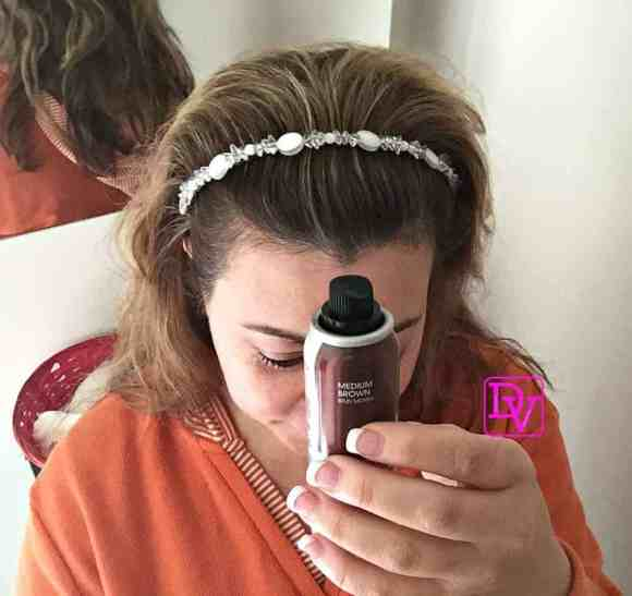 tips and tricks, tips to effortlessly touch up roots, hair,root touch up, roots, greys, silver hair, color, sweat resistant, water resistant, stain resistant, dana vento, hair, beauty, aging gracefully, hair care, sally beauty supply