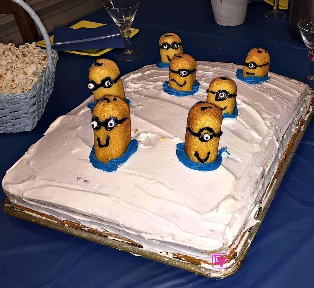 Recipe For A 3D Minion Cake
