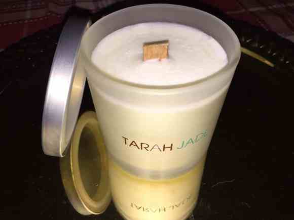 tarah jade candle, scent, holiday gift idea, holiday gifting, holiday scents, ad