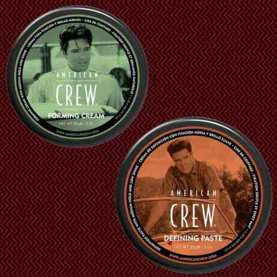 American Crew, Forming Cream, defining paste, hair, hair grooming, men's grooming, men's gifting, hair products, hair, gel, paste, pomade, stiff, washable, flexible, style, styling, hold, light hold, stiff hold, mens' grooming products, best guy's grooming products, how to groom, beginners, novice, slick back, Elvis Presley, Dana Vento, Tween, Teen, Guys, Male, Men, Gifting, Father's Day, Holidays, Birthdays, Best Hair Grooming Products For Guys