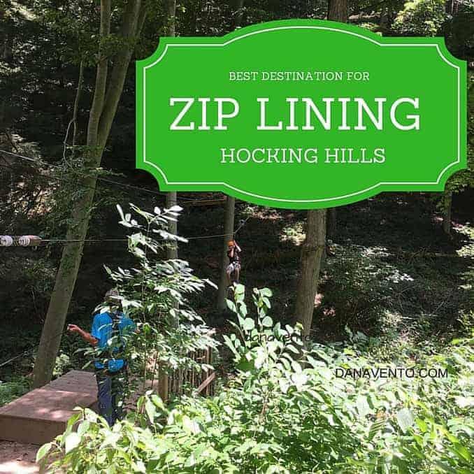 Best Zip Line Destination In Hocking Hills