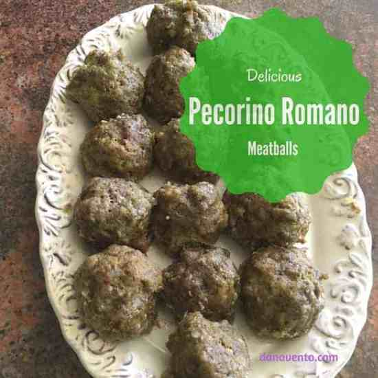 pecorino romano meatballs, sausage, meat, cheese, onion, easy, garlic, recipe, fast, weeknight, bake, broil, saute, oven to table, cooktop to table, rolled, hand packed, pasta, meat, mashed potatoes, gravy, sauce, foodies, food recipe, easy recipe, kid recipe, onions, garlic, cover, leftovers, food writer, dana vento, food, fun,