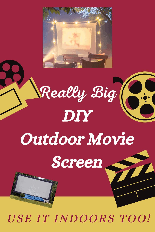 DIY Outdoor Movie Screens
