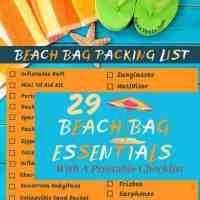 Ultimate Beach Bag Essentials Packing List