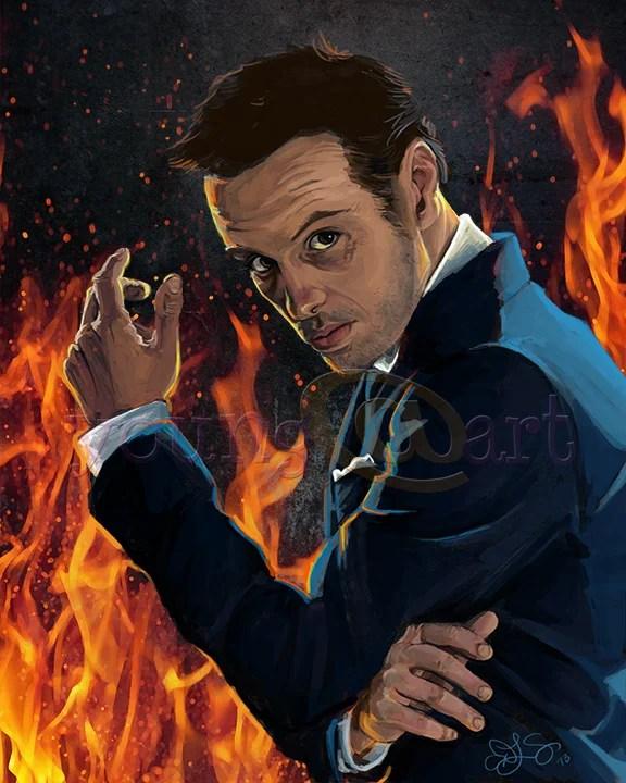 Moriarty from Sherlock