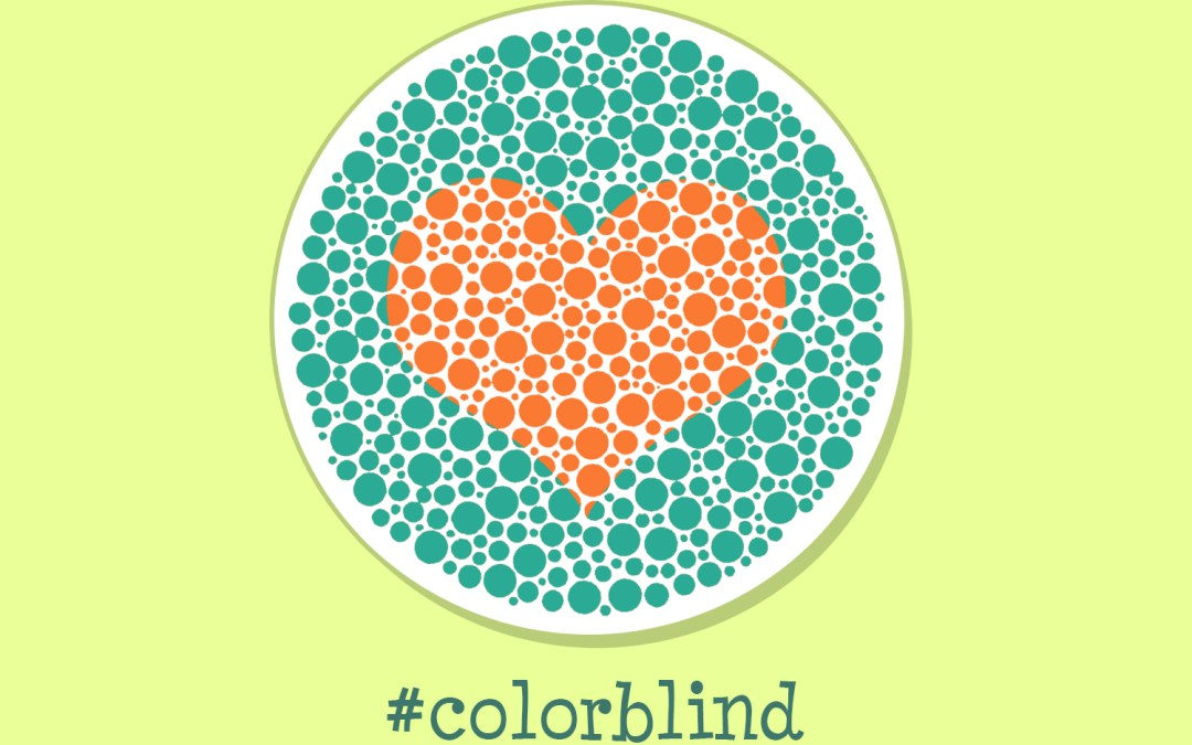 Color blind: the art of love