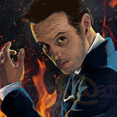 Moriarty from Sherlock: character portrait