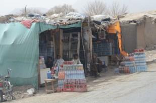 Roadside shops along Highway 1
