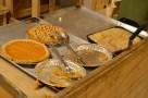 sweet potato & apple pies for dessert
